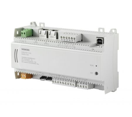 dxr2.e12p-102a комнатный контроллер bacnet/ip, ac 24в (1 di, 2 ui, ?p ,6 do, 2 ao) siemens BPZ:S55376-C108