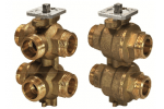 VWG41.20-0.25-0.65 6-ходовой регулирующий шаровой клапан SIEMENS